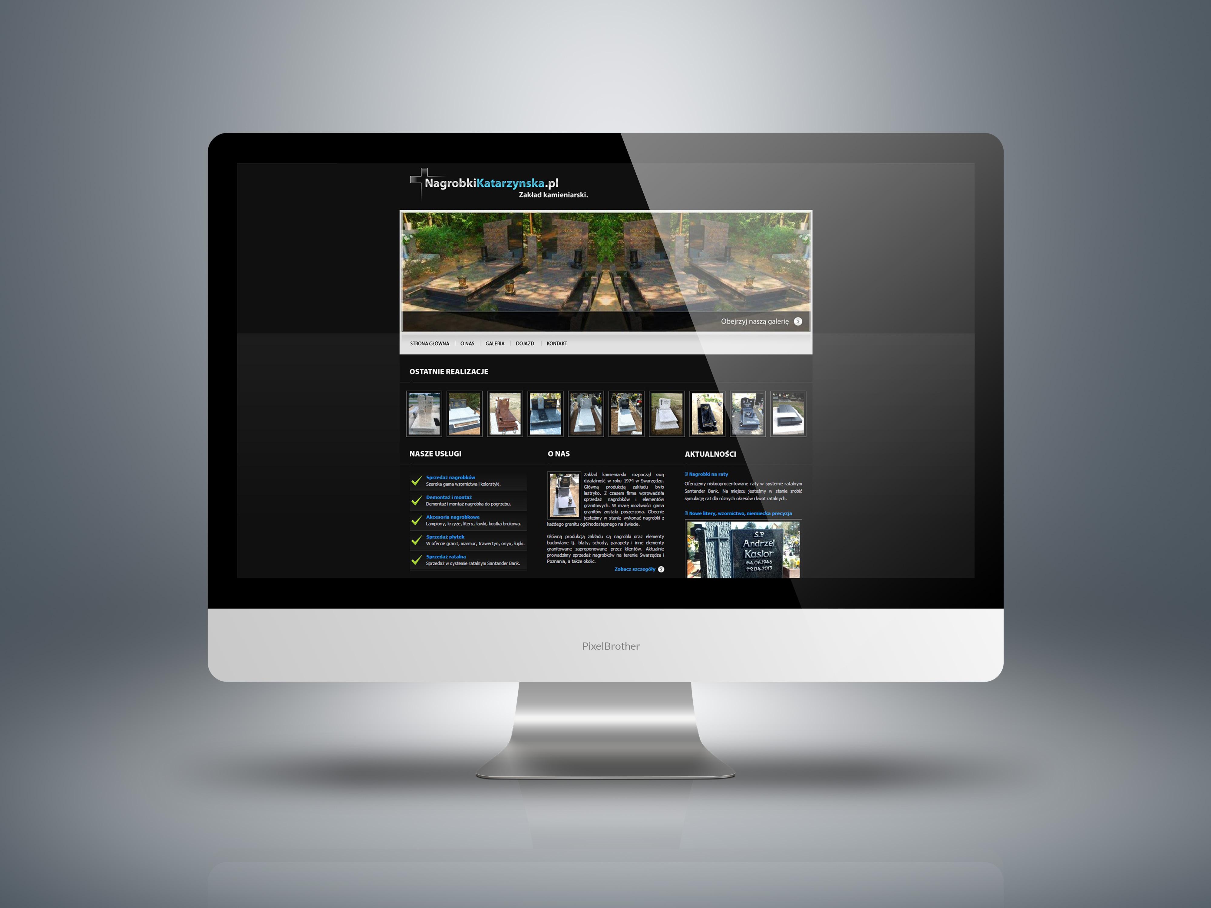 Strona internetowa nagrobki