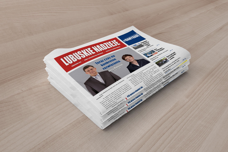gazeta projekt graficzny