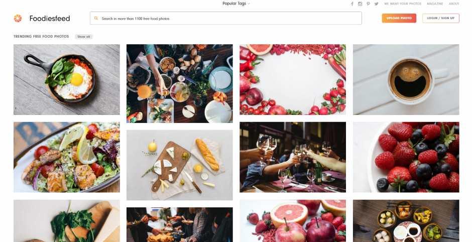 bezpłatne zdjęcia jedzenia na bloga